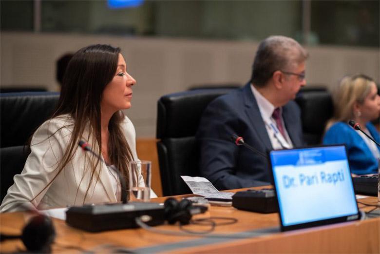Δρ. Παρή Ράπτη - Οι πολιτικές υγείας στο επίκεντρο του διεθνούς συνεδρίου POLITEIA του ΕΟΠΕ