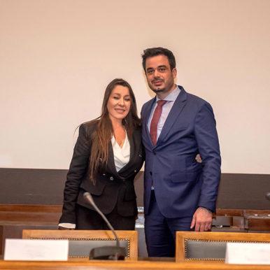 Η Δρ. Παρή Ράπτη και ο Σιμεών Σιδηρόπουλος